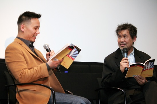 BD Wong and David Henry Hwang Photo by Lia Chang