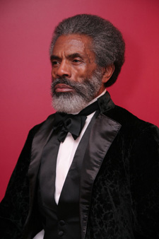 André De Shields  as Frederick Douglass (Photo by Lia Chang)