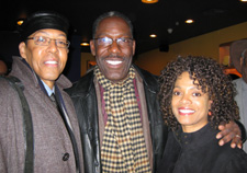 Peter Jay Fernandez, James McDaniel and Denise Burse (Photo by Lia Chang)