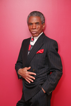 ANDRE DE SHIELDS. Photo by Lia Chang