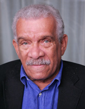 Nobel Laureate poet Derek Walcott (Photo by Lia Chang)