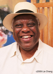 New Federal Theatre producer Woodie King, Jr. Photo by Lia Chang
