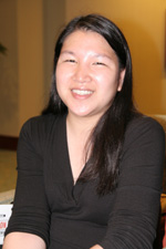 Cynthia Wang, assistant editor of People magazine © Lia Chang