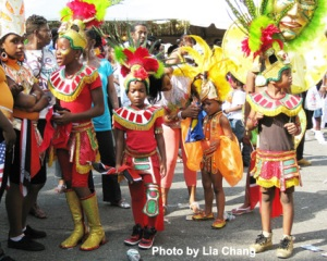 Children of the Empire theme at the West Indian American Day Carnival on 9/5/09 in Brooklyn, NY. (c) Lia Chang