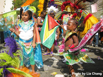 West Indian American Day Carnival on 9/5/09 in Brooklyn, NY. © Lia Chang