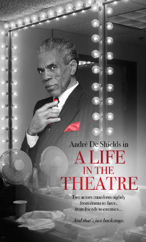 André de Shields headlines David Mamet's A Life in the Theater at the Alliance in Altanta. © Lia Chang