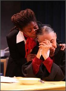 "Mary Hodges and Carmen Delavallade in Ruby Dee's ""The Step Mother""© Gerry Goodstein"