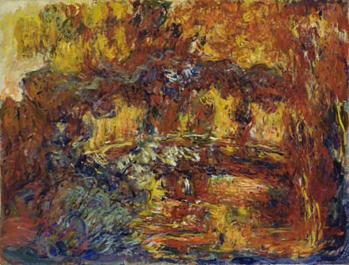The Japanese Footbridge Claude Monet (French, 1840-1926) c. 1920-22. Grace Rainey Rogers Fund