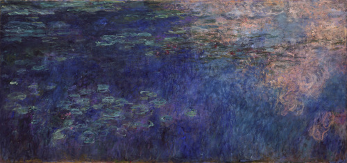 Water Lilies Claude Monet (French, 1840-1926) c. 1914-26. Mrs. Simon Guggenheim Fund