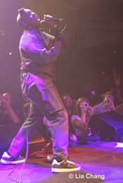 LIVING COLOUR vocalist Corey Glover © Lia Chang