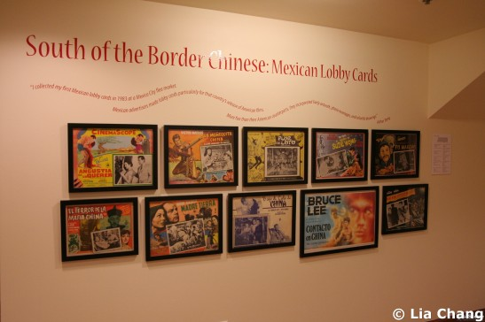 South of the Border Chinese: Mexican Lobby Cards in Hollywood Chinese:  The Arthur Dong Collection on view at the Chinese American Museum in Los Angeles through November 7, 2010. © Lia Chang
