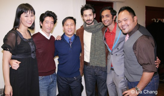 Cindy Cheung, Peter Kim, BD Wong, Marcus Ho, Lavrenti Lopes and Orville Mendoza (c) Lia Chang