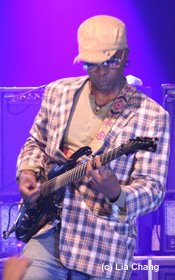 LIVING COLOUR guitarist Vernon Reid © Lia Chang