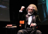 André De Shields as Frederick Douglass in Mine Eyes Have Seen The Glory: From Douglass to Deliverance. © Lia Chang