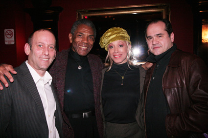 Mark Plesent, Andre De Shields, Mercedes Ellington and Alfred Preisser © Lia Chang