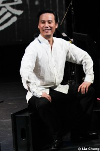 BD Wong as Siu Yee Tong in Heading East, a musical by Robert Lee and Leon Ko, at the Lila Acheson Wallace Auditorium at Asia Society in New York, May 24-26, 2010. © Lia Chang