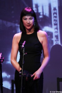 Cindy Cheung in Heading East, a musical by Robert Lee and Leon Ko, at the Lila Acheson Wallace Auditorium at Asia Society in New York, May 24-26, 2010. © Lia Chang