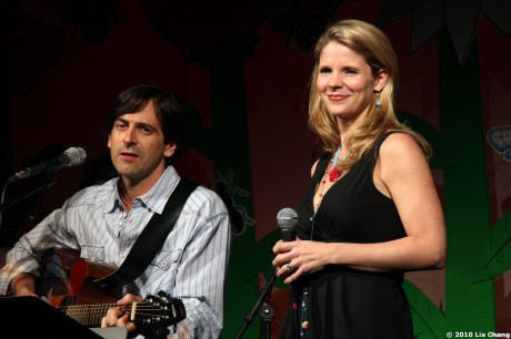 Greg Naughton and Kelli O'Hara © Lia Chang