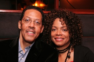 Peter Jay Fernandez and his wife Denise Burse have had a special place in their hearts for the kids of The 52nd St. Project for almost two decades. Photo by Lia Chang