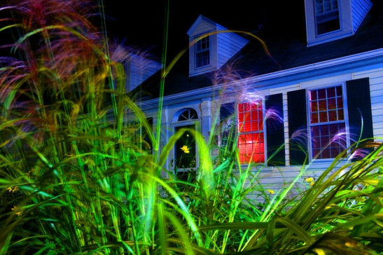 GEORGE HIROSE: New Night Photographs of Provincetown on view at Ernden Gallery. House and Garden, 2010, Photograph by George Hirose