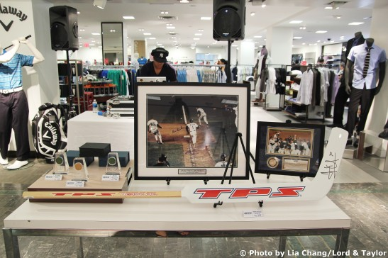 Steiner Sports Memorabilia Photo by Lia Chang/Lord & Taylor