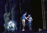 David Carroll as Lt Cable and Lia Chang as Liat in South Pacific in 1986