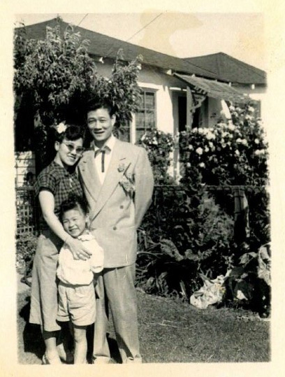 My mom with her parents Nancy Chang and Harry Kai Chong Chang.
