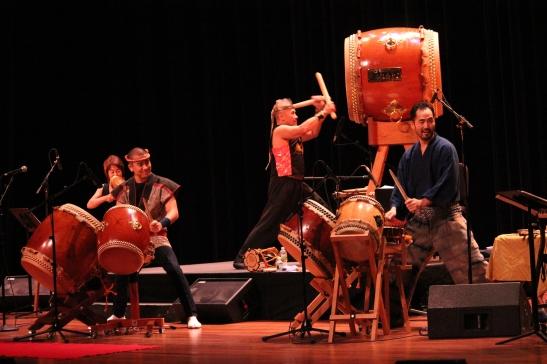 (L-R) Chizuko Endo, Miles Endo, Kenny Endo and Kaoru Watanabe Photo by Lia Chang