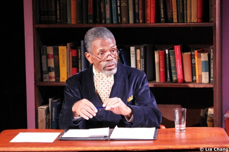 André De Shields as W.E.B. Du Bois in Charles Smith's Knock Me A Kiss © Lia Chang