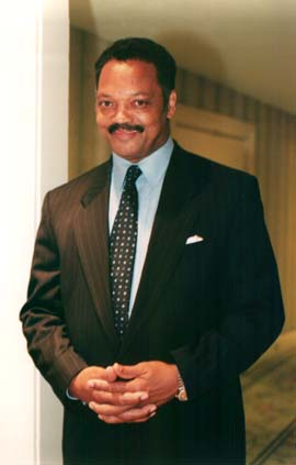 Reverend Jesse Jackson Photo by Lia Chang
