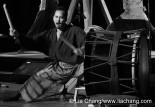 Taiko drummer Kaoru Watanabe © Lia Chang/www.liachang.com