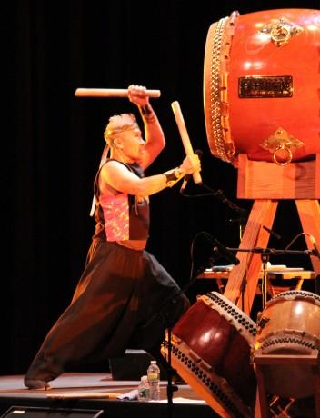 Master Taiko Artist Kenny Endo Photo by Lia Chang