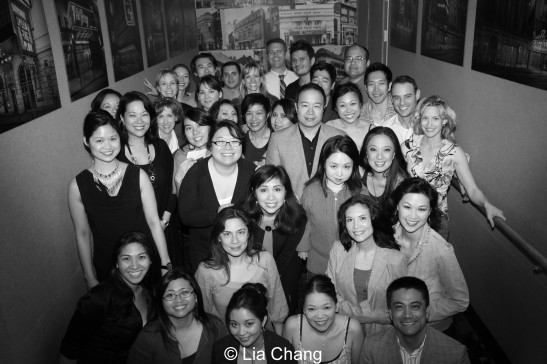 Cast and crew of AEA's Asian Heritage Celebration. © Lia Chang