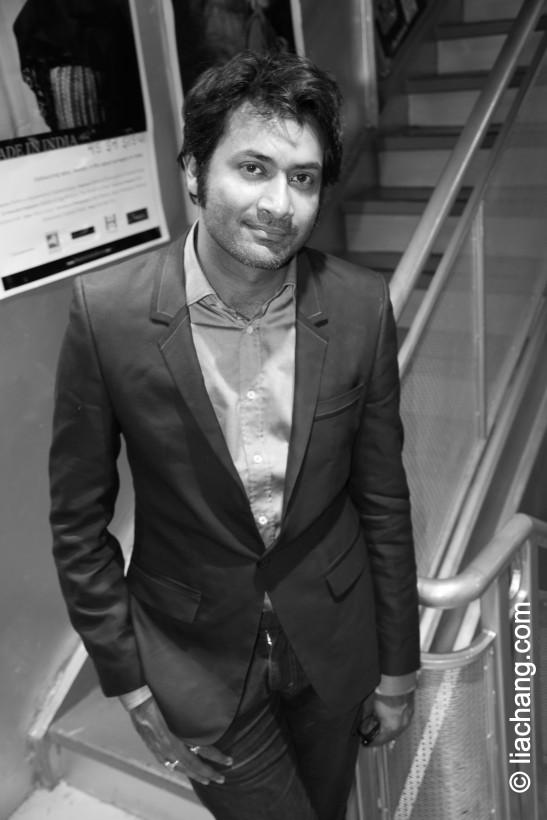 Samrat Chakrabarti at the NYIFF at Tribeca Cinemas on May 7, 2011. © liachang.com
