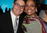 Willie Realie and Denise Burse at The 52nd Street Project Benefit on May 9, 2011 at Espace. Photo by Lia Chang