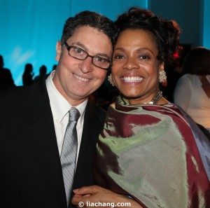 Willie Reale and Denise Burse at The 52nd Street Project Benefit on May 9, 2011 at Espace. Photo by Lia Chang