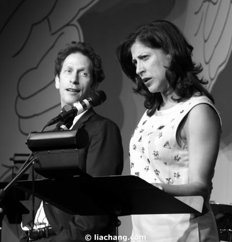 Lisa Benavides and Tim Blake Nelson Photo by Lia Chang