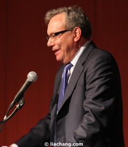 Lewis Black Photo by Lia Chang