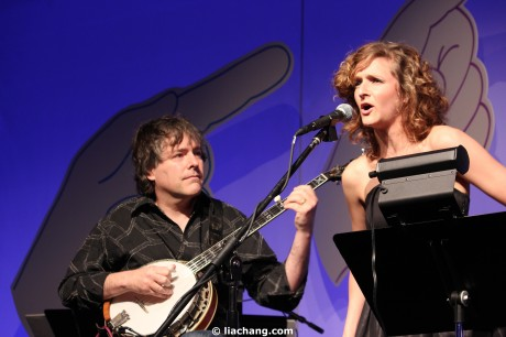 Bela Fleck and Abigail Washburn Photo by Lia Chang