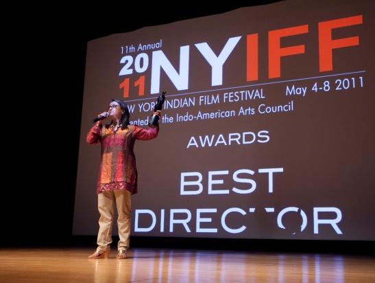 Best Director winner Aparna Sen (Iti Mrinalini). Photo Credit: MichaelToolan.com