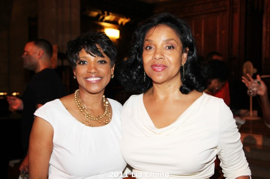 Marva Hicks and Phylicia Rashad  © 2011 Lia Chang
