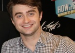 """Daniel Radcliffe made a special appearance at the Lord & Taylor Fifth Ave Store for the unveiling of the """"How to Succeed in Business Without Really Trying"""" Musical themed windows on June 23, 2011. Photo by Lia Chang/Lord & Taylor"""
