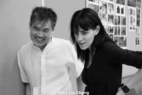 This is playwright David Henry Hwang's second collaboration with director Leigh Silverman. The first was the Obie-Award winning and Pulitzer prize finalist semi-autobiographical Yellow Face. © 2011 Lia Chang