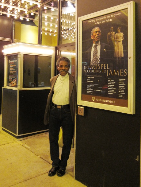 André De Shields at the Victory Gardens Biograph Theater in Chicago, where he is appearing in Charles Smith's The Gospel According to James through June 12, 2011. Photo by Lia Chang
