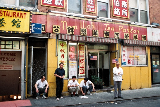 Business Slows in Chinatown after 9-11. Photo by Lia Chang