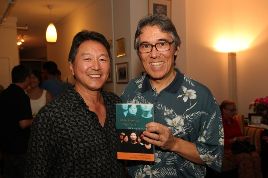 Rick Shiomi and Phil Nash  Photo by Lia Chang