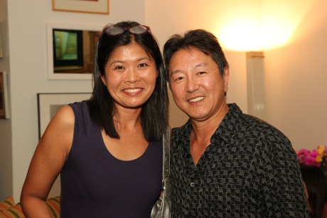 Happy Valley playwright Aurorae Khoo and Rick Shiomi Photo by Lia Chang