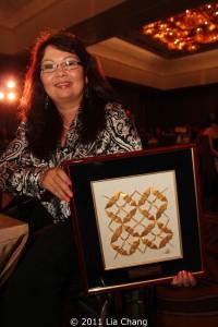 2011 OCA Outstanding Citizen Achievement Award Honoree Tammy Duckworth  Photo by Lia Chang