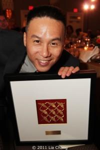 2011 OCA PIoneer Award Recipient BD Wong  Photo by Lia Chang