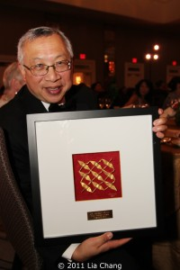 2011 OCA Pioneer Award Recipient Dr. Bobby Fong. Photo by Lia Chang